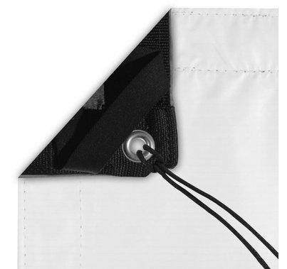 Modern Studio 12' x 20' Black/White Poly Bounce (AKA: Griffolyn) with Bag