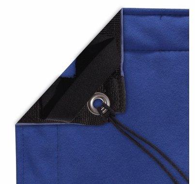 Modern Studio 12' x 20' Chromakey Blue Screen with Bag