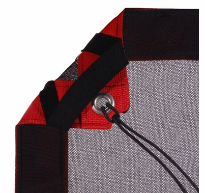 Modern Studio 12' x 20' Double Scrim (Black) with Bag
