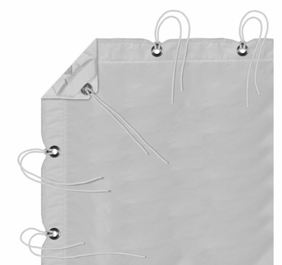 Modern Studio 12' x 20' Noisy Sail Full Grid Cloth with Bag