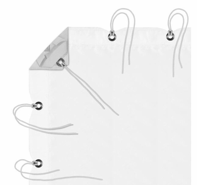 Modern Studio 12' x 20' Silent/Sail Full Grid Cloth with Bag