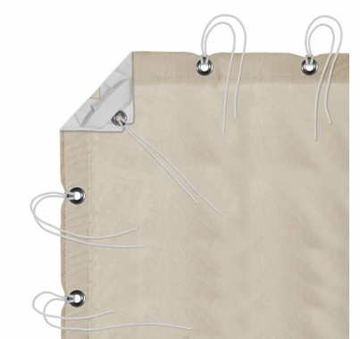 Modern Studio 12' x 20' Unbleached Muslin with Bag