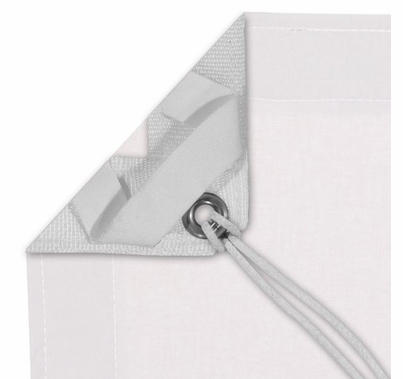 Modern Studio 12' x 20' White Blackout with Bag