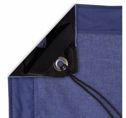 Modern Studio 12'x12' Night Blue Muslin with Bag