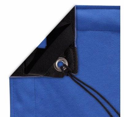 Modern Studio 4' X 4' Digital Blue With Bag