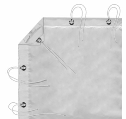 Modern Studio 4' X 4' Full Soft Frost With Bag