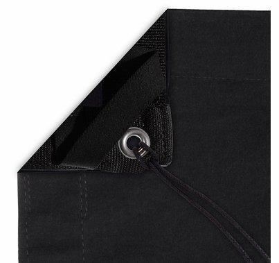 Modern Studio 4x4 Solid Black w/ Bag