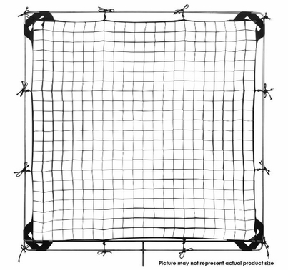 Modern Studio 6' x 6' 30° Fabric Egg Crate with Carrying Case