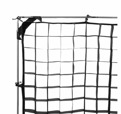 Modern Studio 6' x 6' 40° Fabric Egg Crate with Carrying Case