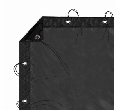 Modern Studio 6' X 6' Silk (Artificial Black) With Bag