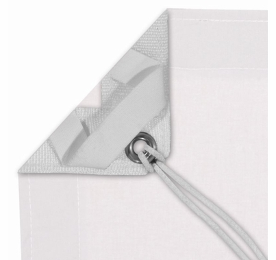 Modern Studio 6' X 6' White Blackout With Bag