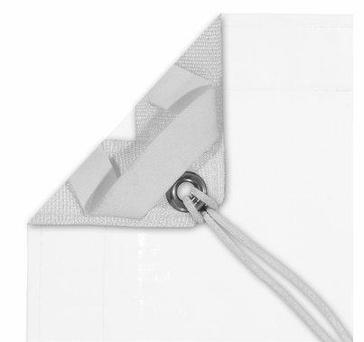 Modern Studio 6'x6' China Silk White w/ Bag