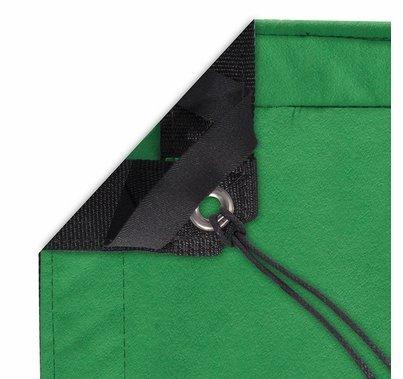 Modern Studio 6x6 Chromakey Green Screen w/ Bag