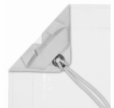 Modern Studio 8' X 8' White/White Poly Bounce (AKA: Griffolyn) With Bag