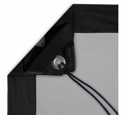 Modern Studio 8'x8' 1/4 Stop Silk (Artificial Black) with Bag