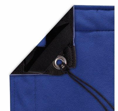 Modern Studio 8'x8' Chromakey Blue Screen with Bag