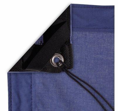 Modern Studio 8'x8' Night Blue Muslin with Bag