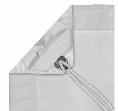 Modern Studio 8'x8' Noisy Sail 1/2 Grid Cloth with Bag