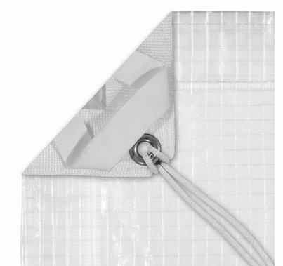 Modern Studio 8'x8' Noisy Sail 1/4 Grid Cloth with Bag