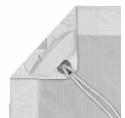 Modern Studio 8'x8' Silent  Sail / Quarter Grid Cloth w/ Bag