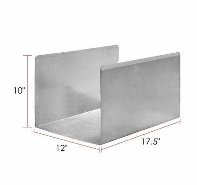 Modern Studio Aluminum Milk Crate Liner