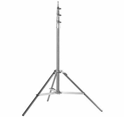 Modern Studio  Baby 3 Riser Stand Rocky Mountain Leg Stainless