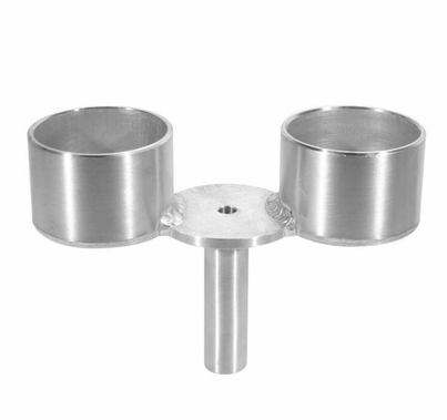 Modern Studio Crab Dolly Double Cup Holder