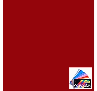 "Rosco 27 Medium Red Gel Filter Sheet 20""x24"" Party Lighting"