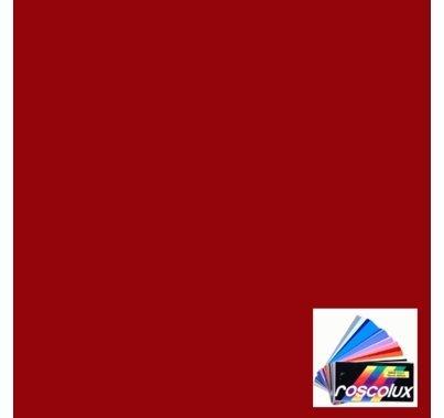 "Rosco 27 Medium Red RoscoSleeve fits 96"" T12 Fluorescent"