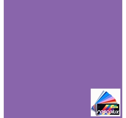 "Rosco 353 Lilly Lavender Lighting Gel Sheet 20""x24"""