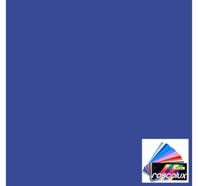 "Rosco 361 Hemsley Blue Lighting Gel Sheet 20""x24"""