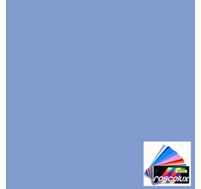 "Rosco 372 Theater Booster 2 Blue Lighting Gel Sheet 20""x24"""