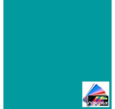 "Rosco 375 Cerulean Blue Lighting Gel Sheet 20""x24"""