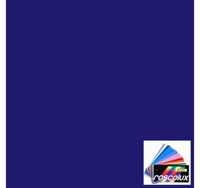 "Rosco 381 Baldassari Blue Lighting Gel Sheet 20""x24"""