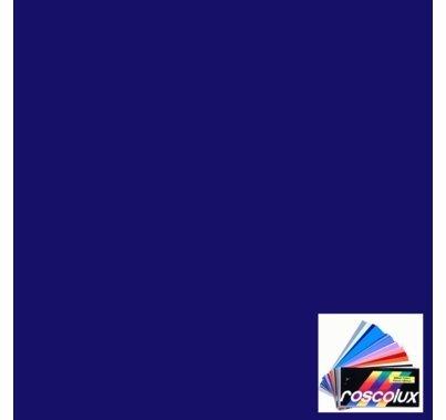 "Rosco 383 Sapphire Blue Lighting Gel Sheet 20""x24"""