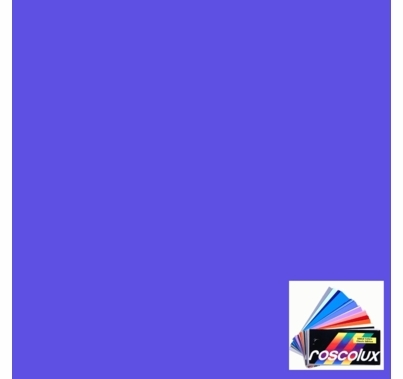 "Rosco 4260 Calcolor 60 Blue Lighting Gel Sheet 20""x24"""