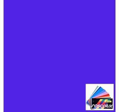 "Rosco 4290 Calcolor 90 Blue Lighting Gel Sheet 20""x24"""