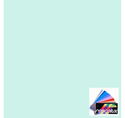 "Rosco 4307 Calcolor 7.5 Cyan Lighting Gel Sheet 20""x24"""