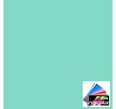 "Rosco 4330 Calcolor 30 Cyan Lighting Gel Sheet 20""x24"""