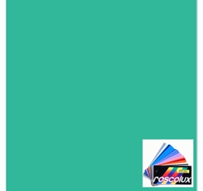 "Rosco 4390 Calcolor 90 Cyan Lighting Gel Filter Sheet 20""x24"""