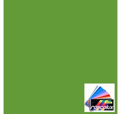 "Rosco 4460 Calcolor 60 Green Lighting Gel Sheet 20""x24"""