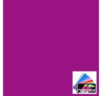 "Rosco 4760 Calcolor 60 Magenta Lighting Gel Sheet 20""x24"""
