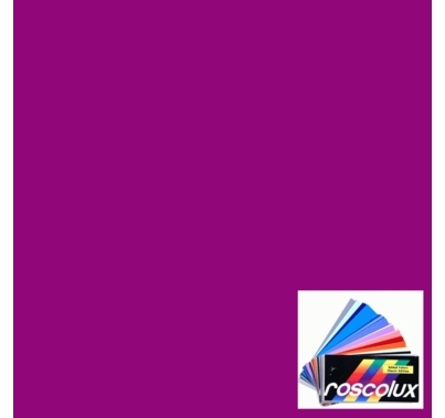 "Rosco 4790 Calcolor 90 Magenta Lighting Gel Sheet 20""x24"""