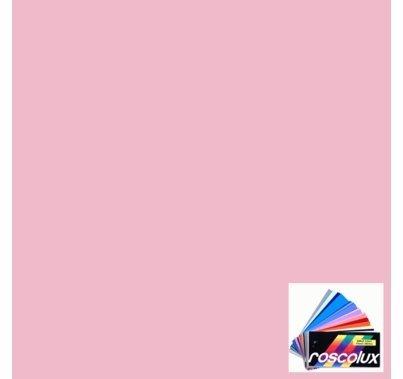 "Rosco 4815 CalColor Pink Lighting Gel Filter Sheet 20""x24"""