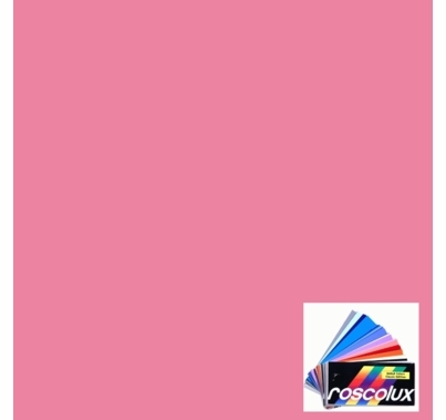 "Rosco 4830 CalColor 30 Pink Lighting Gel Filter Sheet 20""x24"""