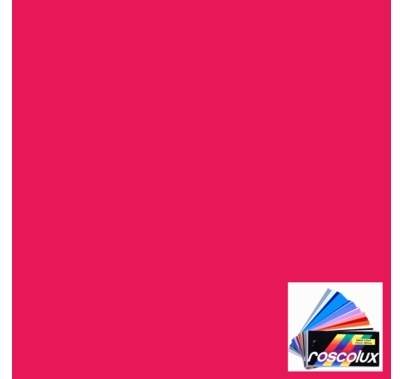 "Rosco 4890 Calcolor 90 Pink Lighting Gel Sheet 20""x24"""