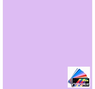 "Rosco 4915 Calcolor 15 Lavender Lighting Gel Sheet 20""x24"""