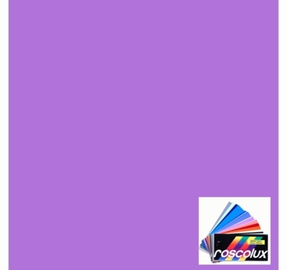 "Rosco 4930 Calcolor 30 Lavender Lighting Gel Sheet 20""x24"""