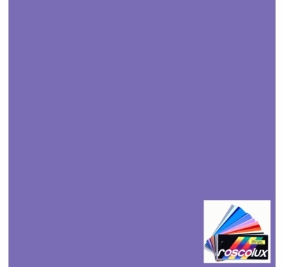 "Rosco 55 Lilac Lighting Gel Sheet 20""x24"""
