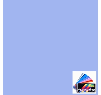 "Rosco 63 Pale Blue Lighting Gel Sheet 20""x24"""